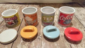 retro style canisters