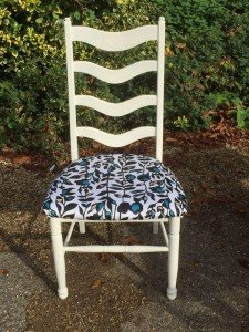 cream dining chair