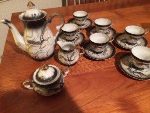 Oriental tea service