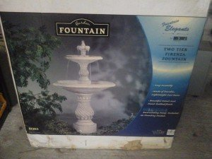 eramic Firenza outdoor water fountain