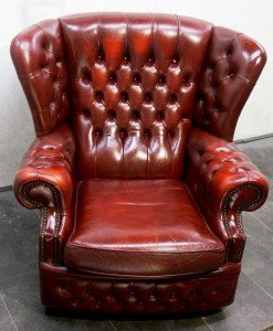 gentleman's club chair