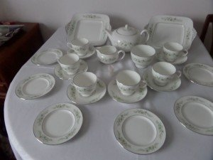 Wedgewood tea service
