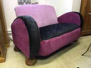 two seater salon sofa chair