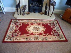oriental style floor rug