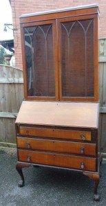 mahogany vintage bureau
