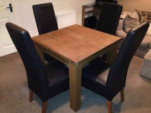 quare dining table