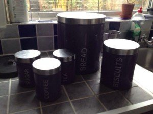 kitchen canister set,