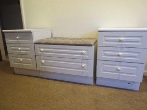 drawer seating unit