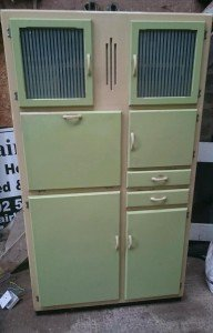 wood kitchen unit