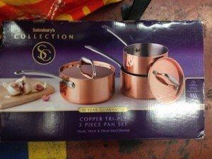 lidded saucepan set