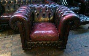 Chesterfield gentleman's club chair