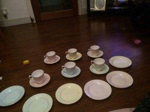 tea set,