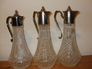 Victorian claret jugs