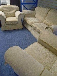 Chenille sofa suite