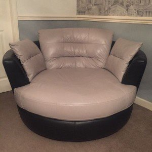 swivel love seat