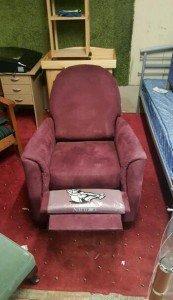 gentleman's club armchair