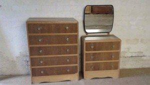 five drawers