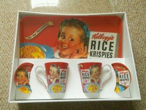 Kellogg's gift set