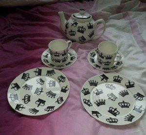novelty tea set