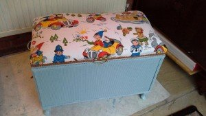 nursery blanket box