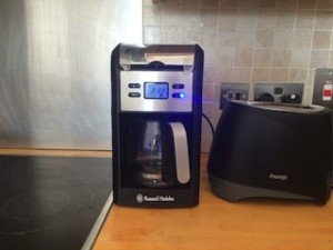 steel coffee machine