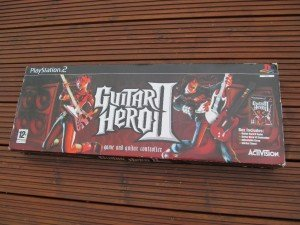 boxed Guitar Hero