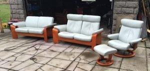 pine sofa suite