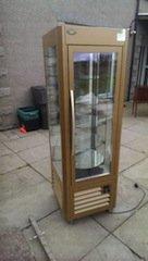 glass display fridge