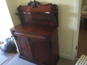 mahogany hall dresser