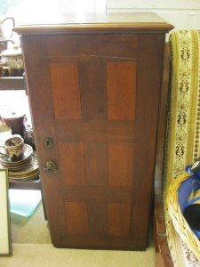 small panelled cabinet