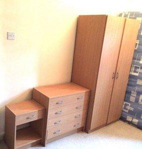 three piece bedroom furniture set
