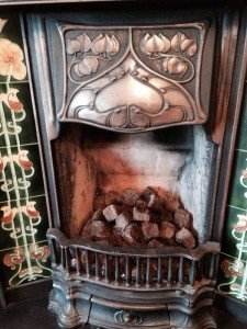 centre fireplace