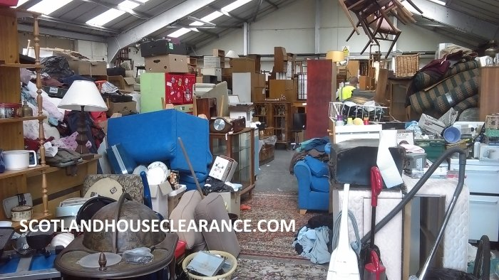Scotland House Clearance Charity Warehouse