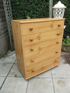 chested drawers