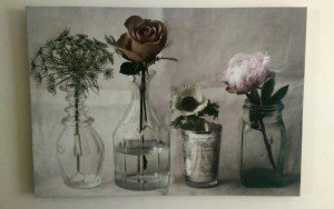 shabby chic canvas