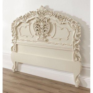 carved french headboard