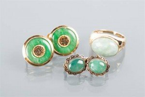Jadeite set jewellery