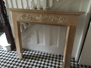 carved fire surround