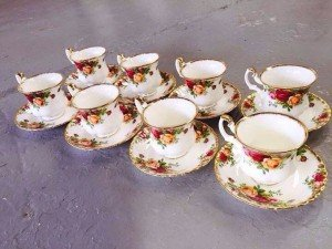old country roses set