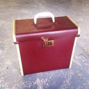 leather vinyl case