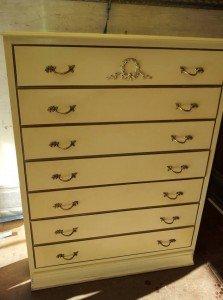 seven drawer unit