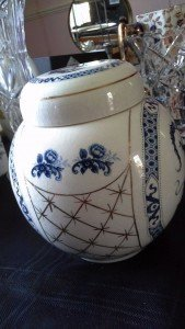 Chinese style ginger jar