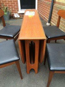 double gate leg table