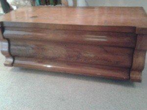 mahogany trunk