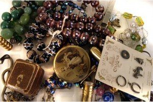 small collection of costume jewellery
