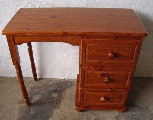 pedestal vanity dressing table