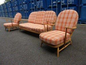 vintage Windsor three piece suite