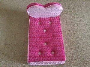 children's toy doll bed