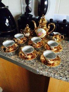 fine China porcelain tea set