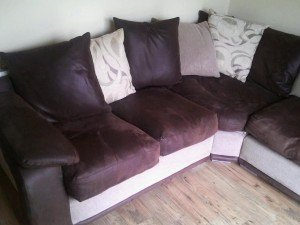 six seater corner sofa